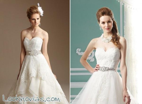 ¿Qué cinturón le pondrías a tu vestido de novia?