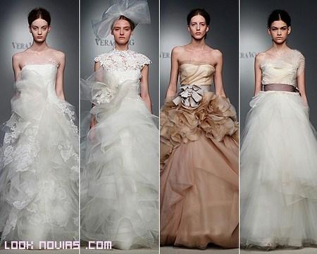 Colección novias Vera Wang 2012