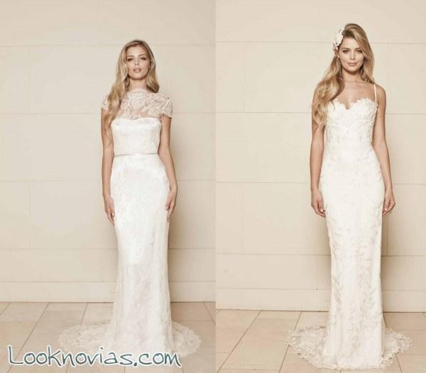 Vestidos para novias de Lisa Gowing