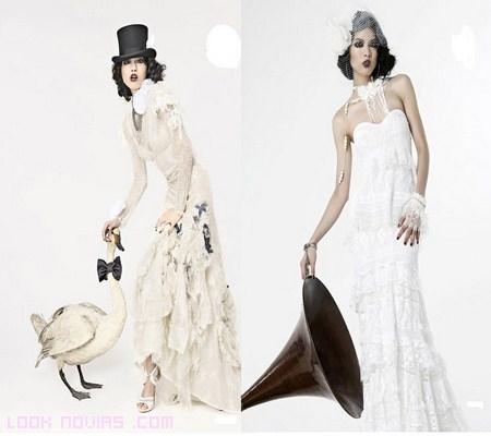 vestidos de novia modernos 2012