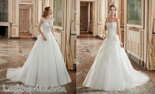 Cómodos y vaporosos, así son estos vestidos para novia