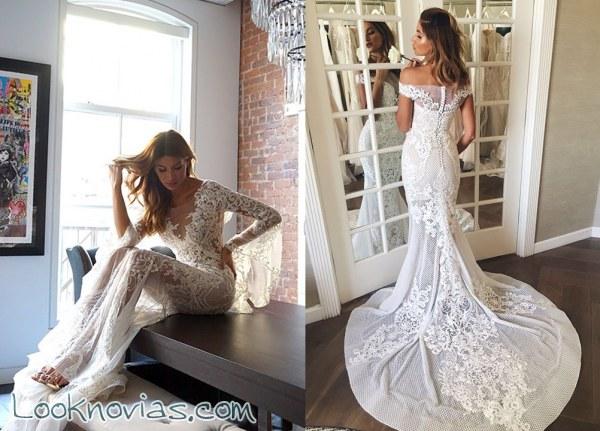 Sensuales vestidos de la firma Pallas Couture