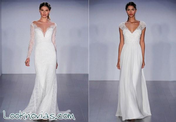 Cuatro vestidos de la firma Him Hjelm
