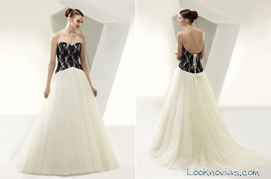 enzoani nos presenta sus vestidos de novia en blanco y negro