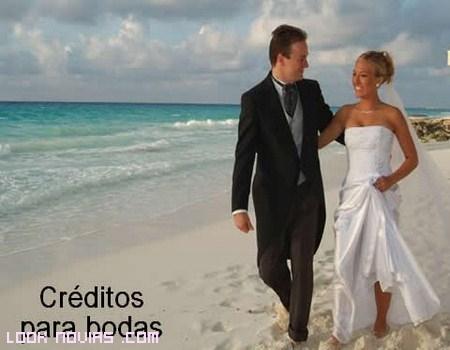 Préstamo boda