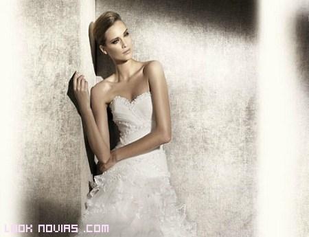 Escote corazón para novias