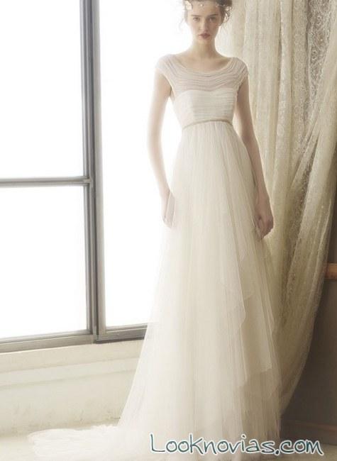 escote de novia bundó