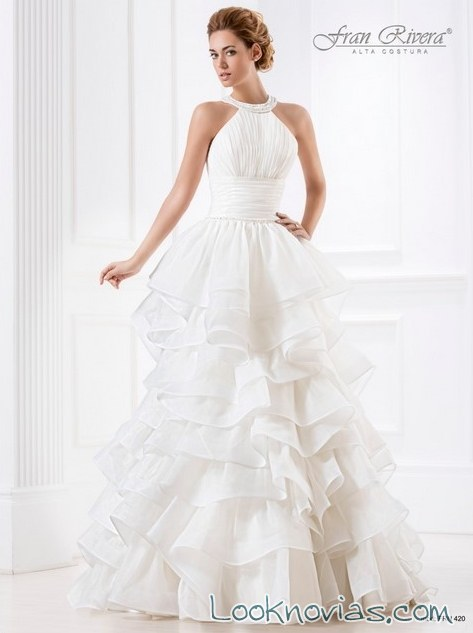 vestidos alta costura de la firma fran rivera
