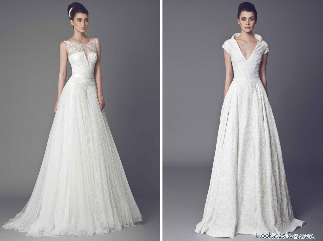 Escotes de novia originales