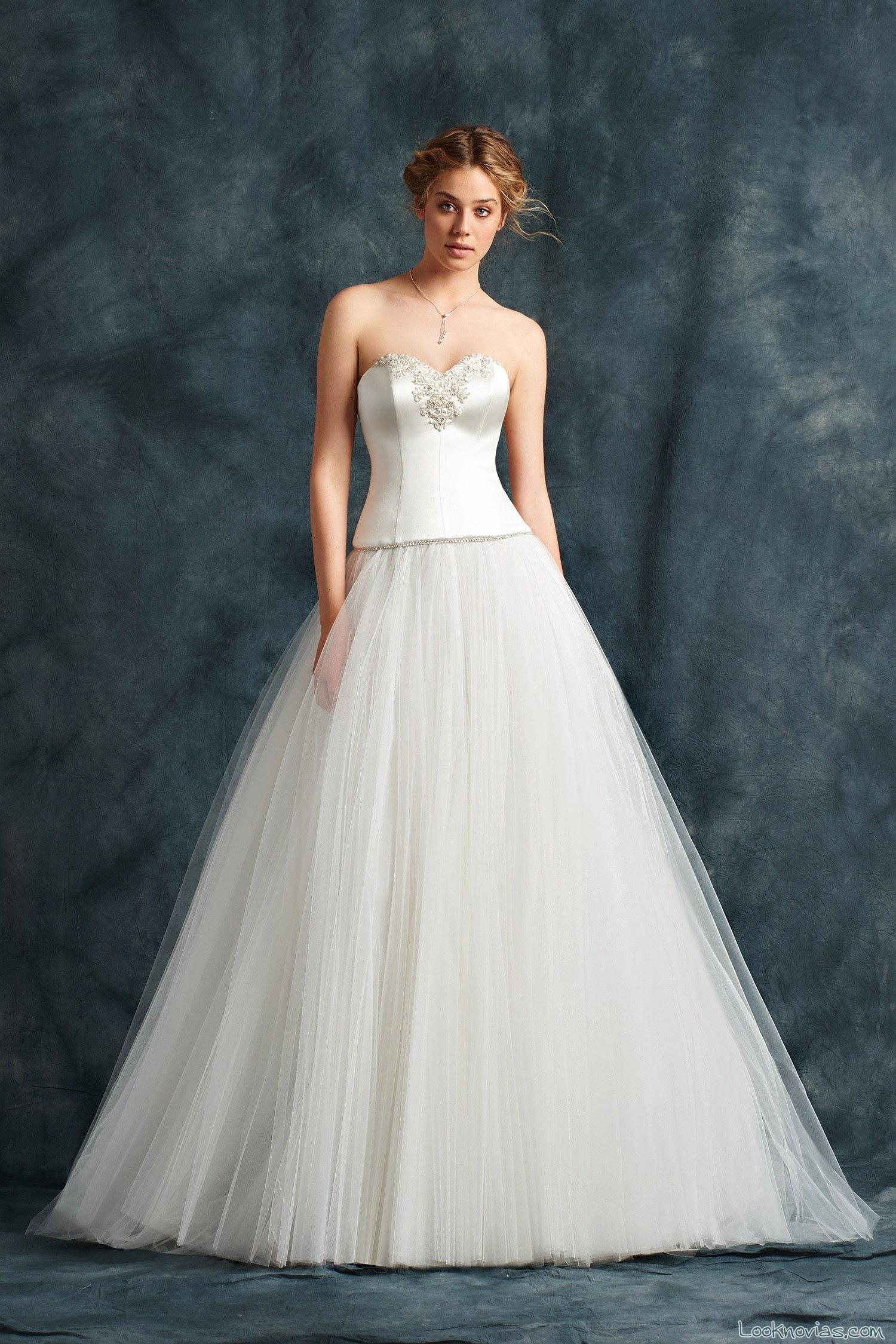 falda de tul vestido de novia atelier emé