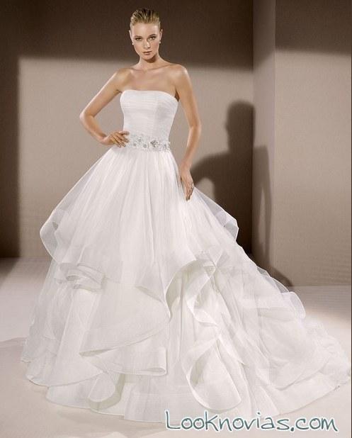 falda de volantes divina sposa