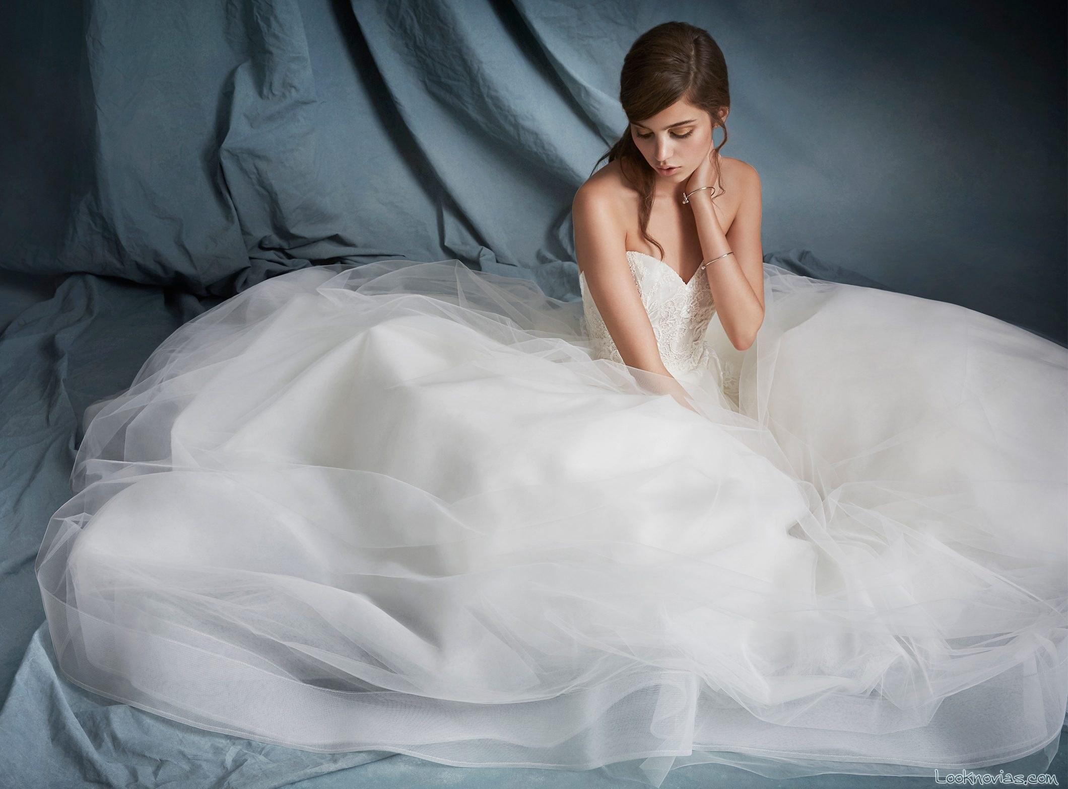falda princesa novias 2016