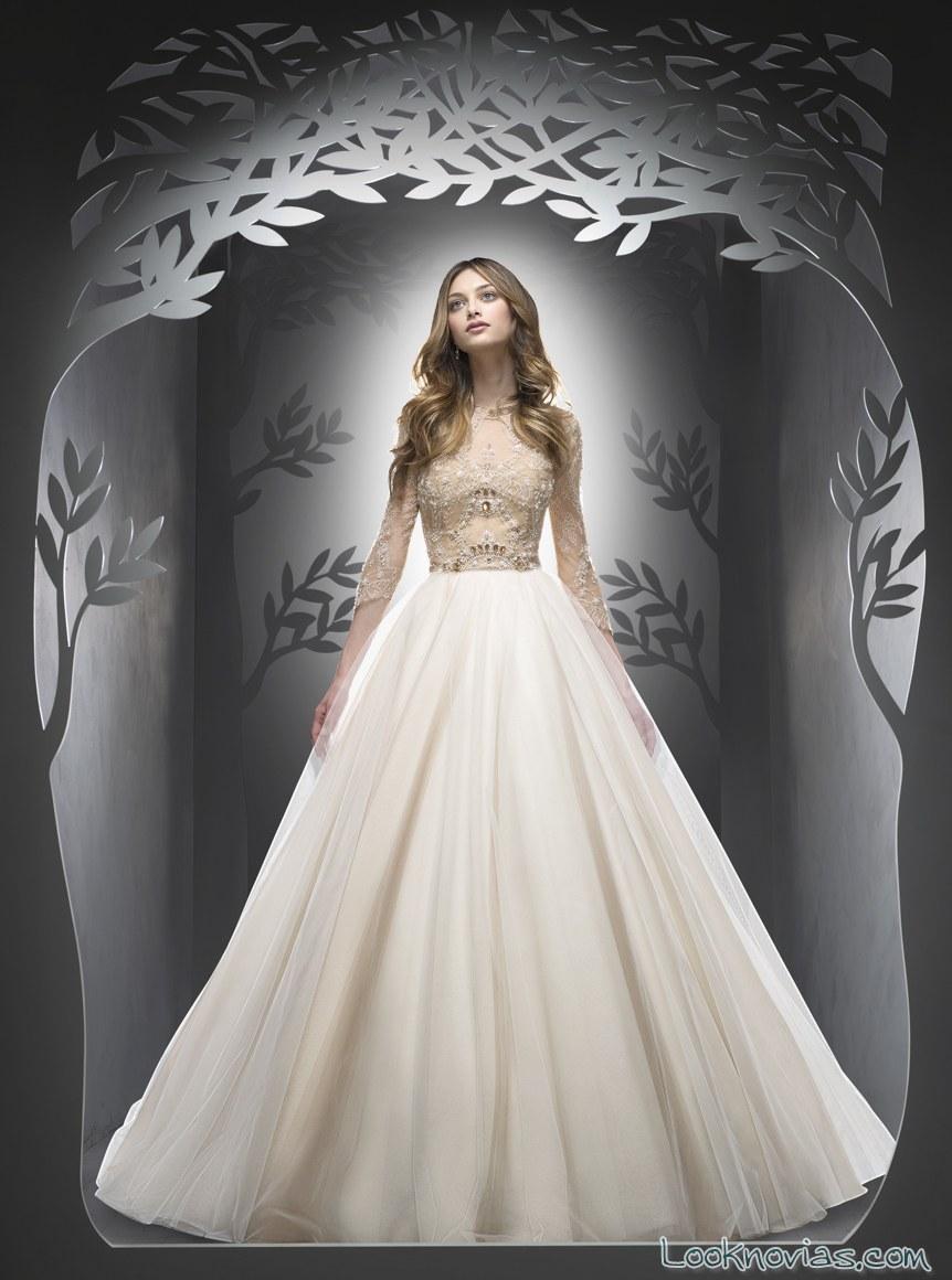 falda princesa vestidos ersa novias