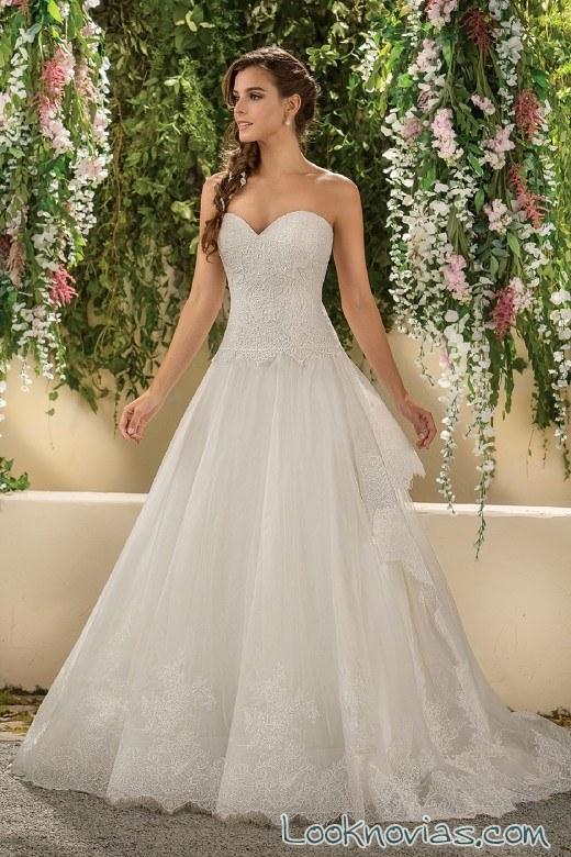 falda y corpiño para las novias jasmine bridal