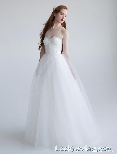 faldas de novia vestidos con capas