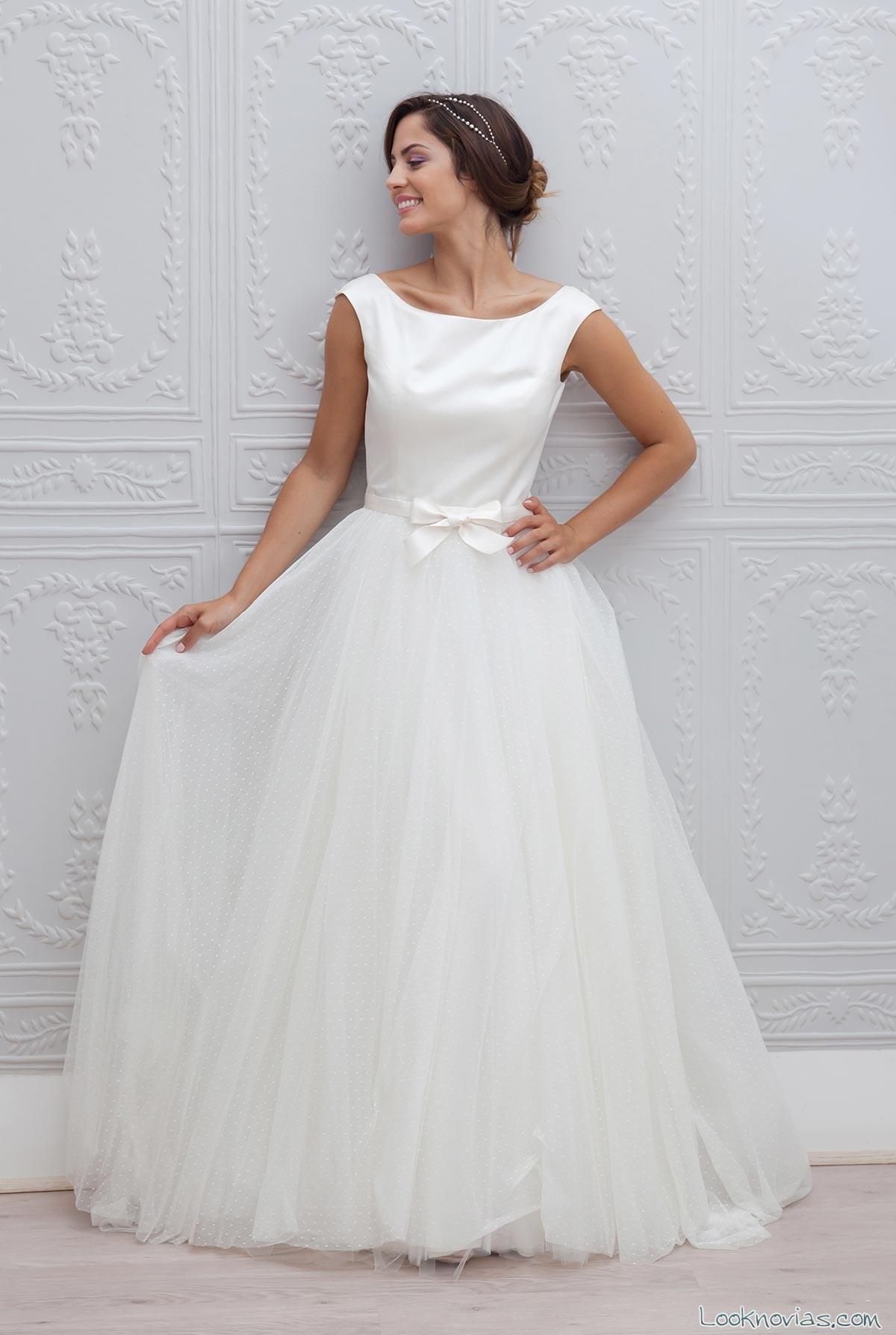 faldas de tul para novias