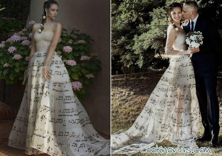 imágenes boda de Eros Ramazzotti