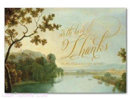 invitaciones con imágenes de paisajes