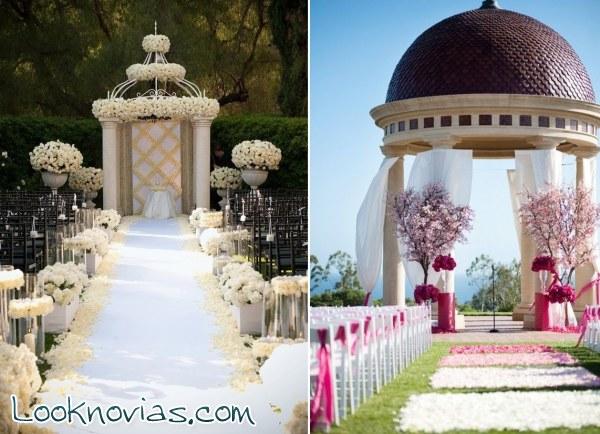 Lugares preciosos decorados para la boda - Sitios para bodas ...
