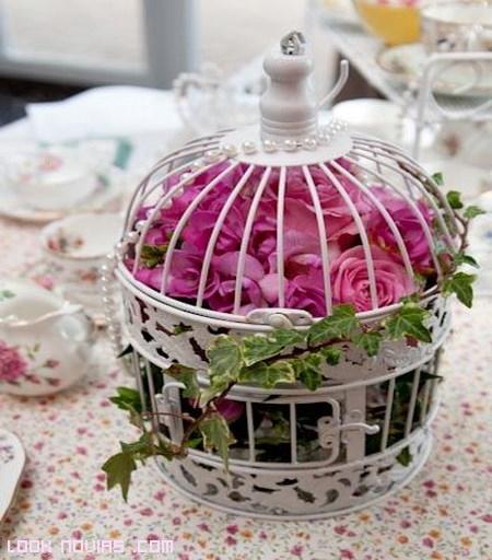 Jaulas Decoracion Bodas ~   detalle para completar la decoraci?n original que toda boda necesita