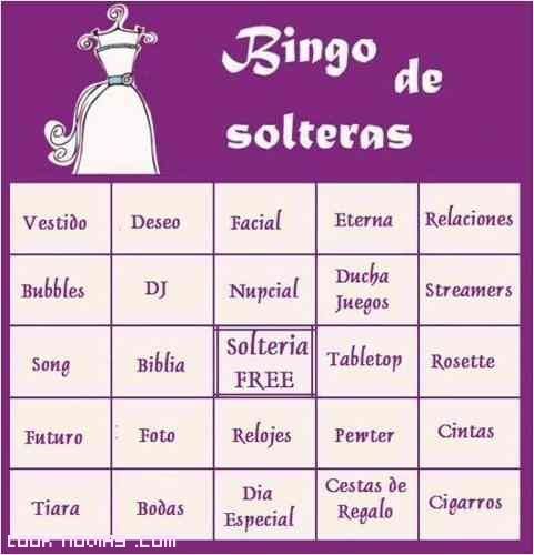 bingo para fiestas