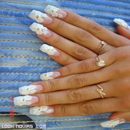 flores blancas para novias 2012