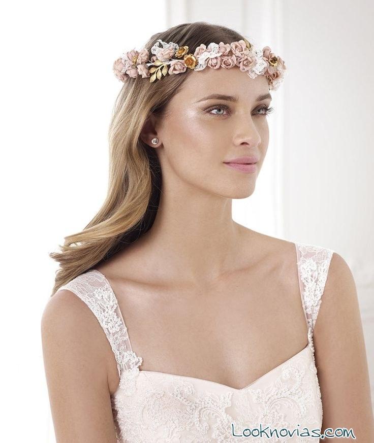 maquillaje rosado para novia