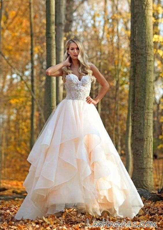 marisa bridals vestido princesa