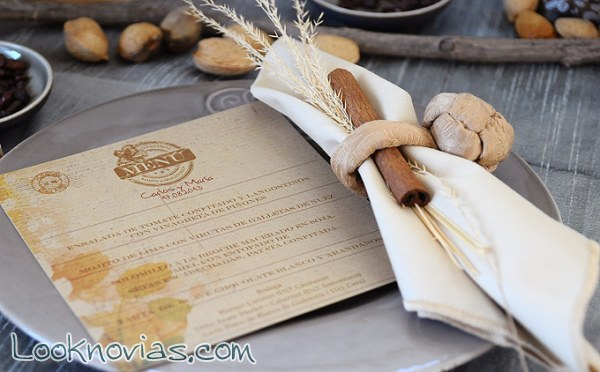 Papel ecológico para decorar tu mesa de boda