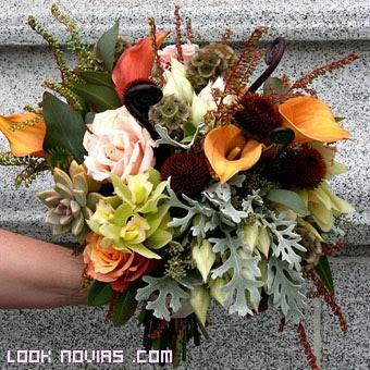 flores de temporada para novias