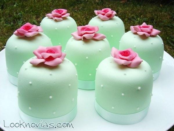 Mini-cakes para un gran postre de boda
