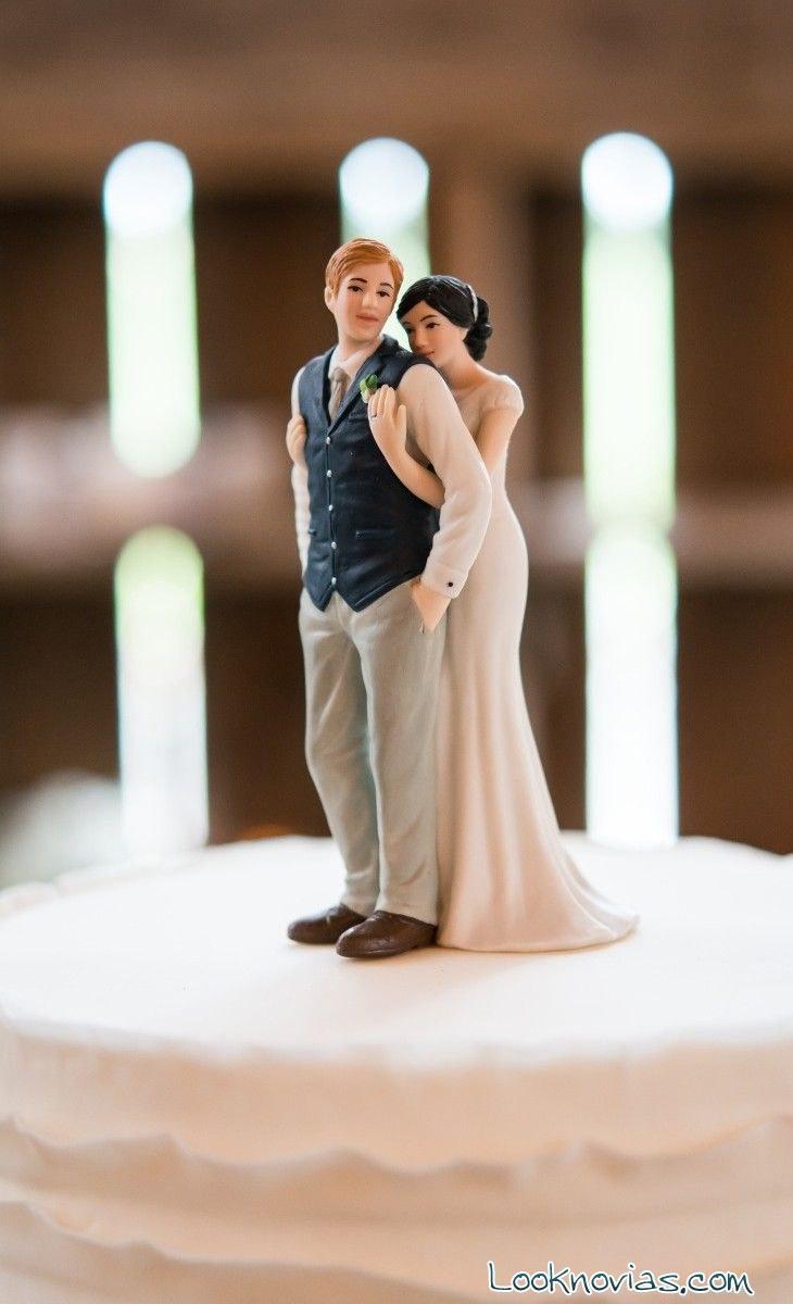 muñecos para tarta románticos y originales