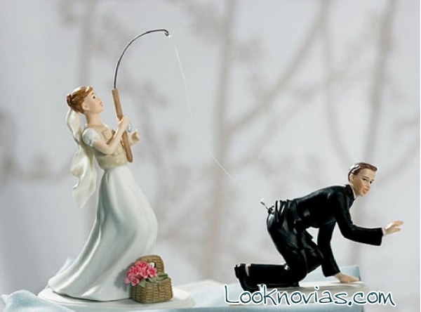 unique funny wedding cake toppers cuatro ideas de mu 241 ecos originales para las tartas 21429