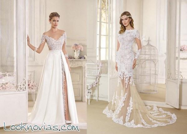 5 vestidos novia d´art 2017, ¡los más atrevidos!