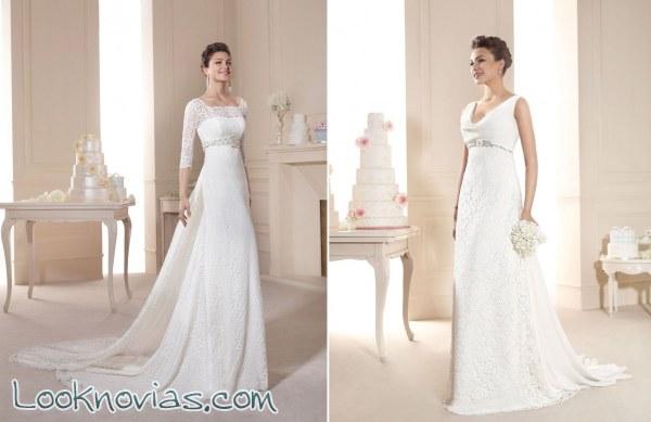 4 vestidos perfectos para novias románticas