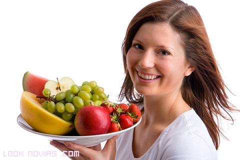 dietas para piel grasa
