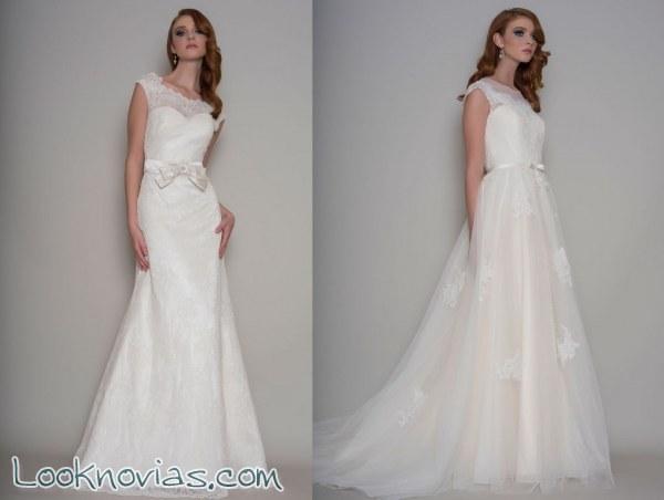 Nueva colección de novia con estilo vintage