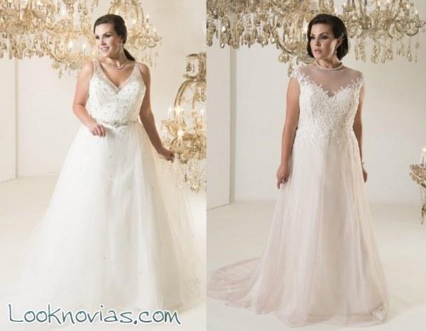 Nuevas ideas para las novias plus size Callista