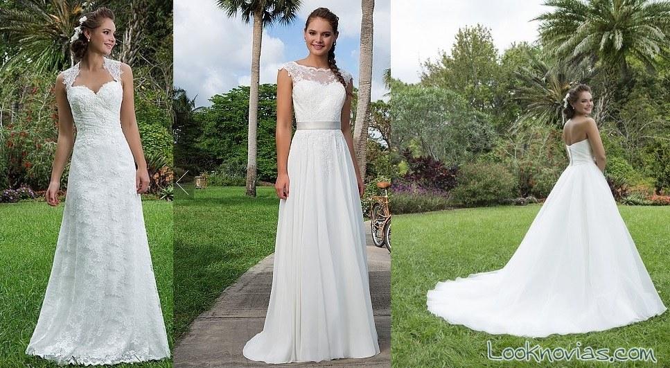 nuevos vestidos de novia sweethear colección 2016