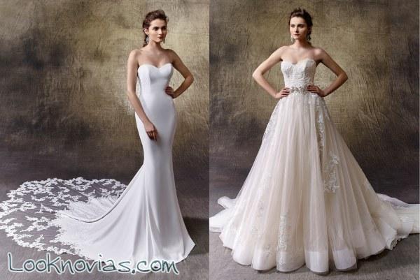 ¡No te puedes perder los nuevos vestidos Enzoani!