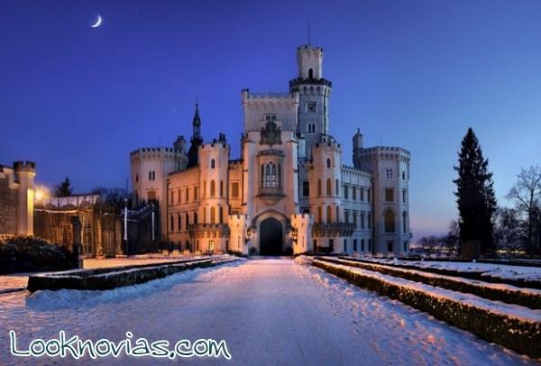 Romántica luna de miel en palacios