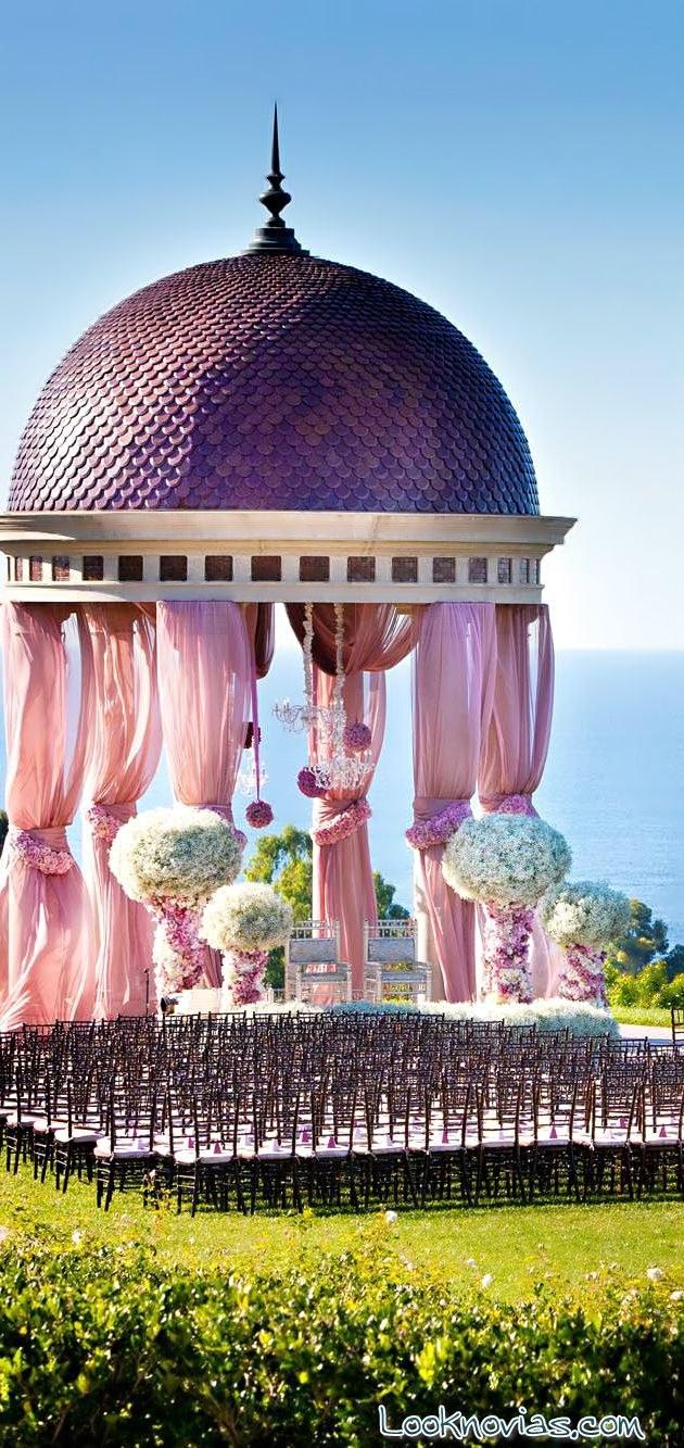 palcos en jardines para boda