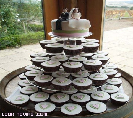 Un ideal dulce para tu boda: Cupcakes