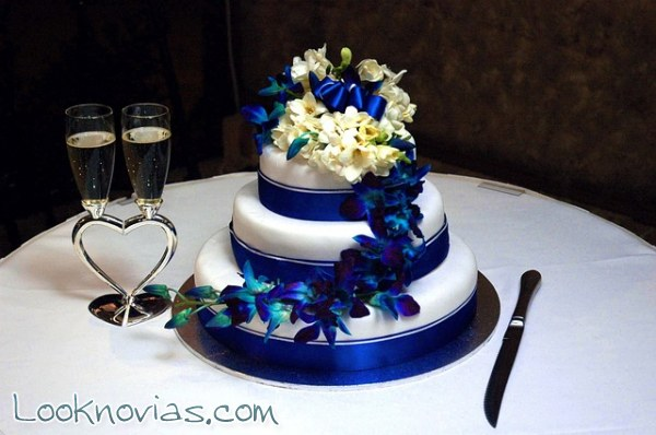 Pasteles para boda elegantes y sencillos