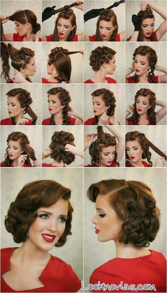 peinado vintage paso a paso