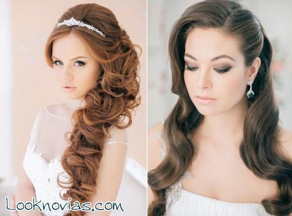 Peinados de pelo no tan largo