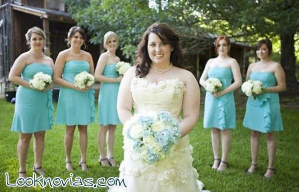 Ideas de peinados para novias gorditas