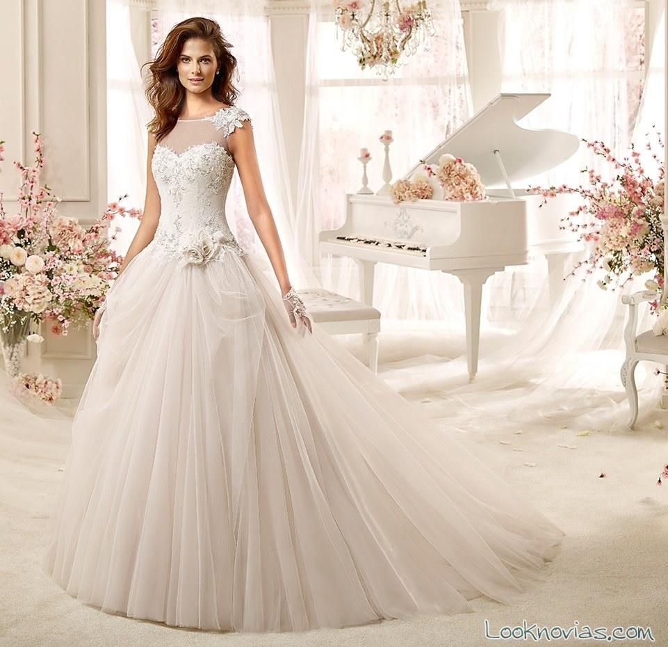 precioso vestido de novia por colet