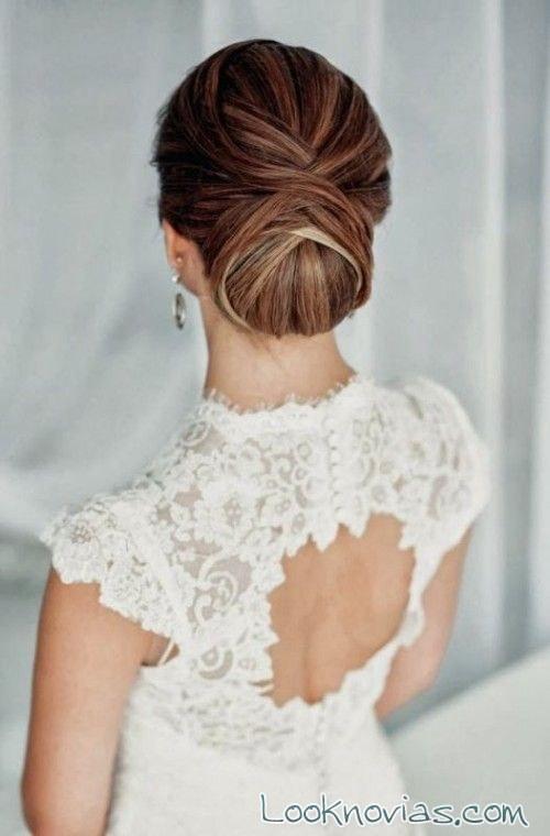 4 Recogidos Para Las Novias Mas Elegantes - Los-recogidos-mas-elegantes