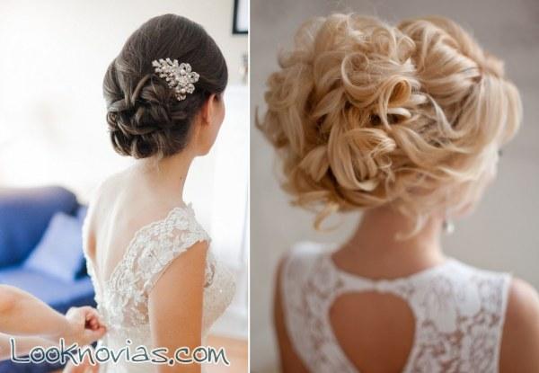 Peinados para novia llenos de estilo